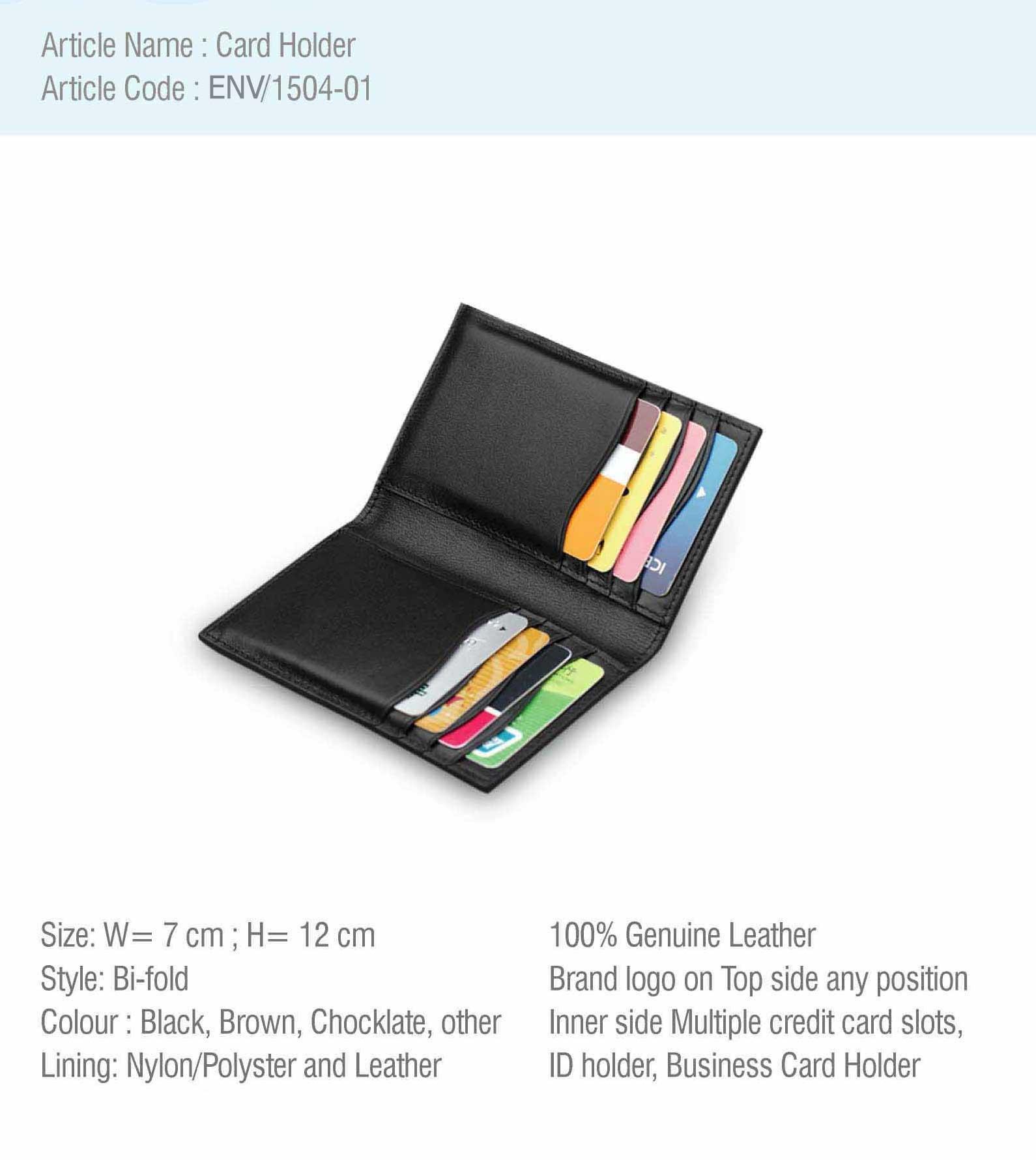Card Holder – ENVI Jute & Leather Craft